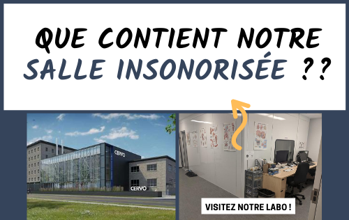 Blogue visite salle insonorisee