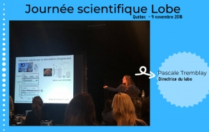 Journée scientifique Lobe 2018